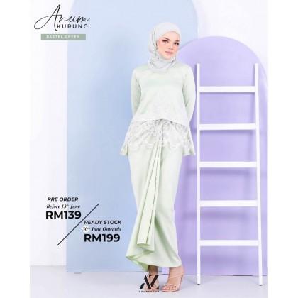 Anum Pario Pastel Green