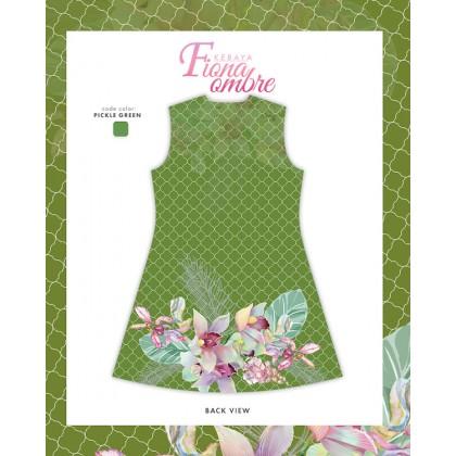 Fiona Ombre Kebaya Green Pickle